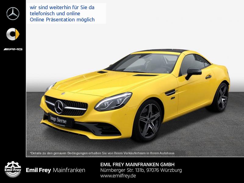 Mercedes-Benz SLC 300 9G AMG Final Edition+ILS+COMAND+HiFi+Distro, Jahr 2019, Benzin