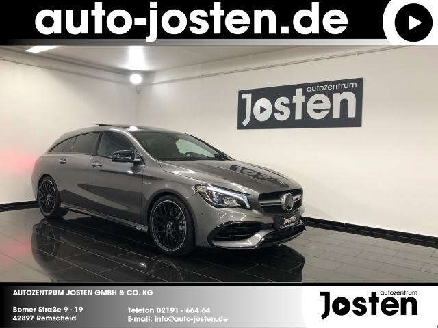 Mercedes-Benz CLA 45 AMG Shooting Brake NightP. PANO LED Leder, Jahr 2017, Benzin