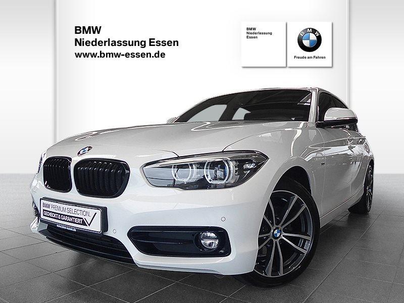 BMW 118i 5-Türer Edition Sport Line, Jahr 2018, Benzin