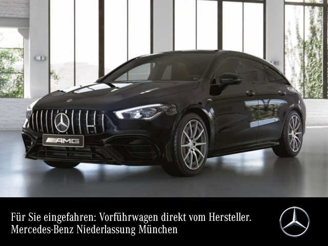 Mercedes-Benz CLA 45 S 4MATIC Shooting Brake Sportpaket Navi LED, Jahr 2020, Benzin
