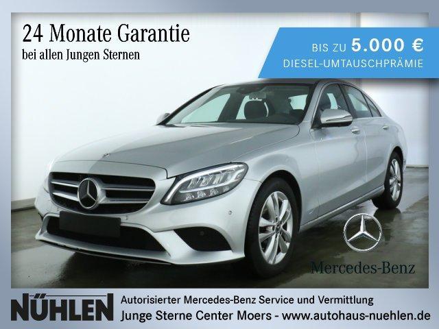 Mercedes-Benz C 180 AVANTGARDE Exterieur+AVANTGARDE Interieur, Jahr 2019, Benzin