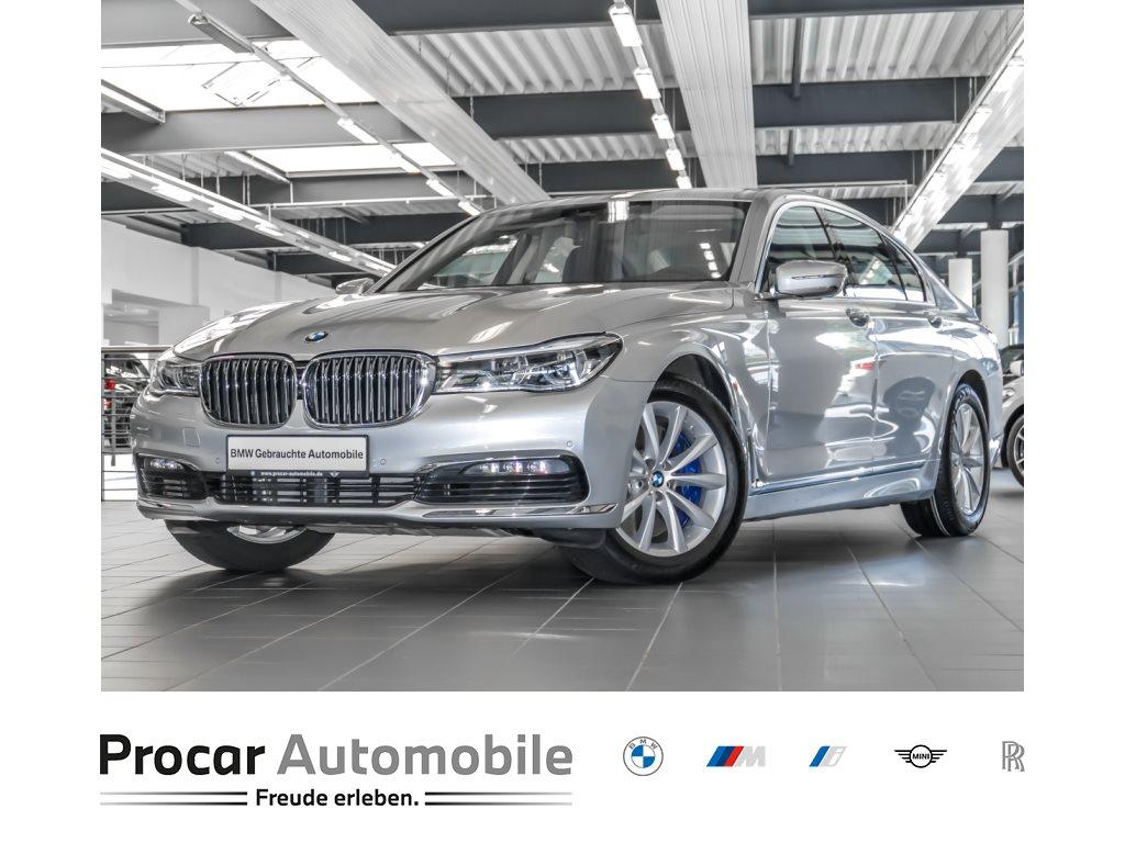 BMW 750d xDrive Limousine LED HuD Massage Head-Up, Jahr 2018, Diesel