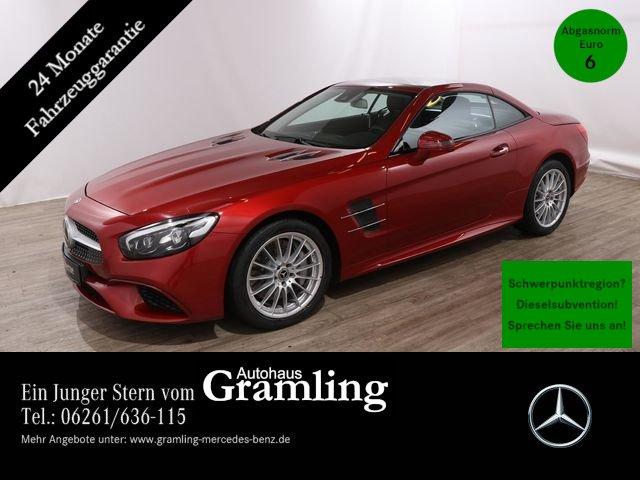 Mercedes-Benz SL 400 COMAND*Airscarf*Kamera*ILS*DVD-Wechsler**, Jahr 2018, petrol
