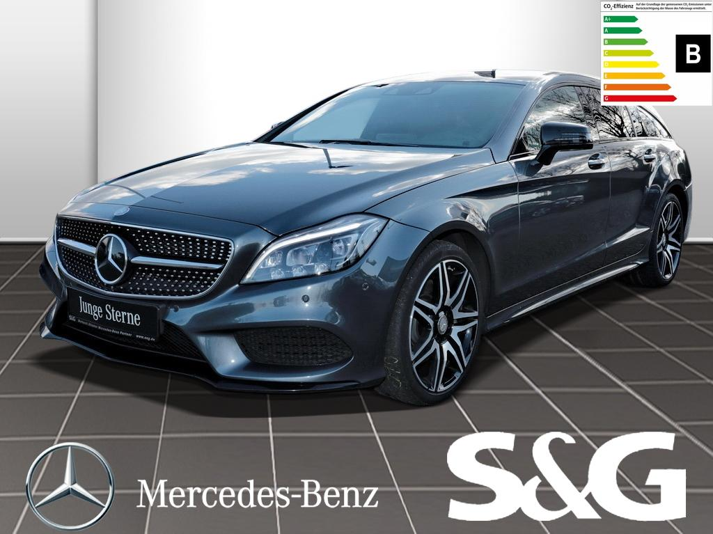 Mercedes-Benz CLS 350 Shooting Brake d4M AMG Standh. Distronic, Jahr 2016, Diesel