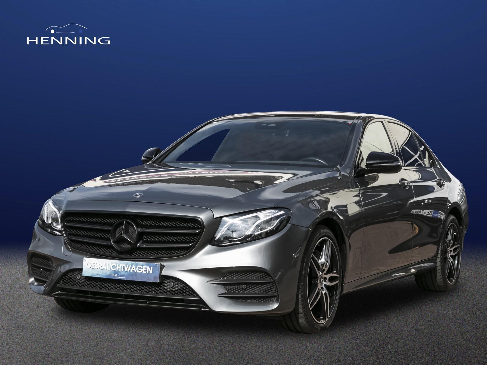 Mercedes-Benz E 220 d Limo AMG-Line Widesc. Burme. Comand, Jahr 2017, Diesel