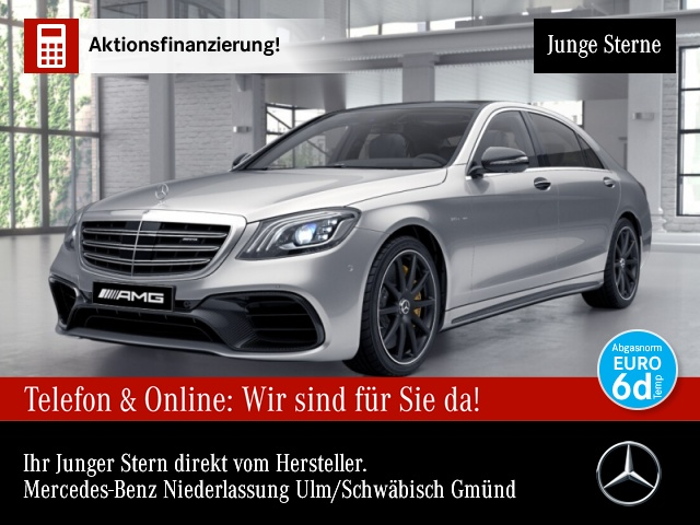 Mercedes-Benz S 63 AMG L 4M Keramik NIGHT MAGIC SKY NP. 244 TE, Jahr 2018, Benzin