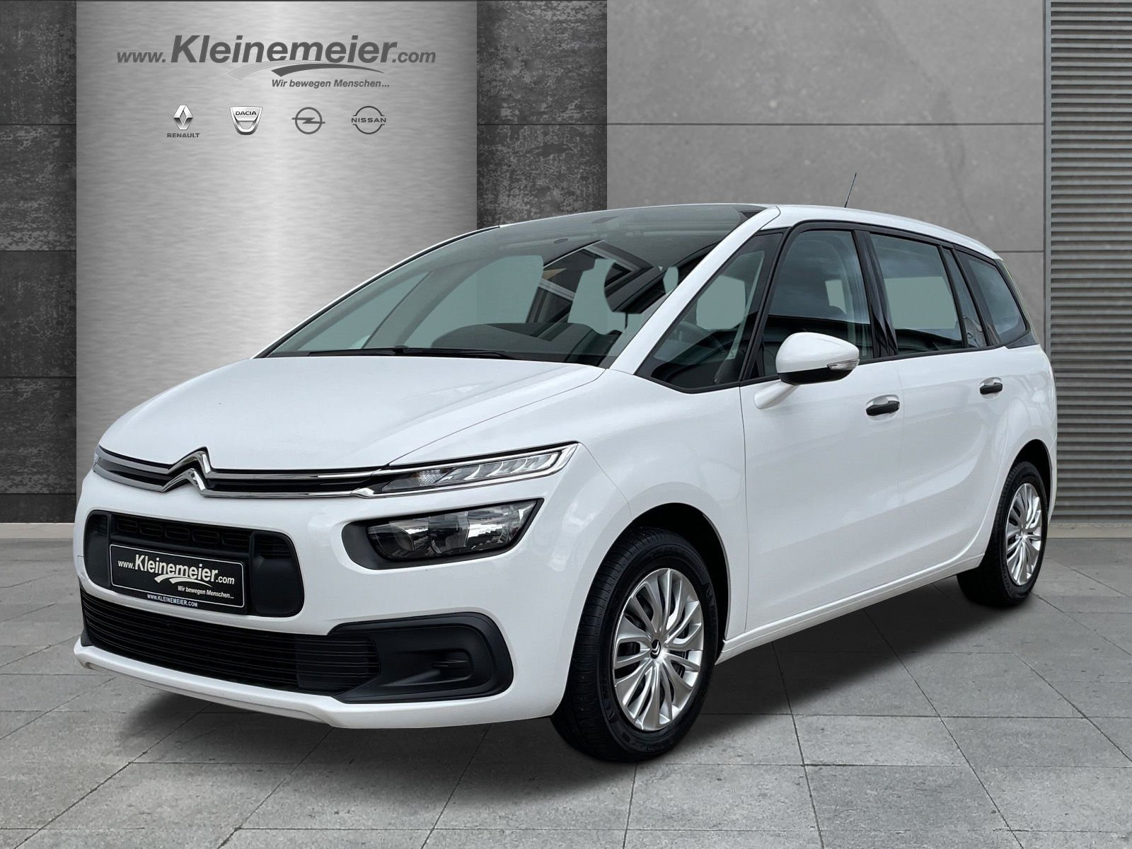 Citroën C4 Grand Picasso 1.2 PureTech Live*AHK*Klima*, Jahr 2018, Benzin