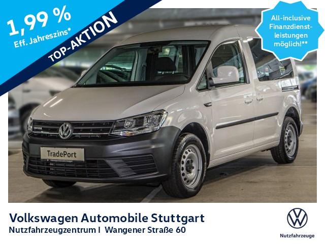 Volkswagen Caddy Kasten 1.4 TGI Euro 6b, Jahr 2017, Benzin