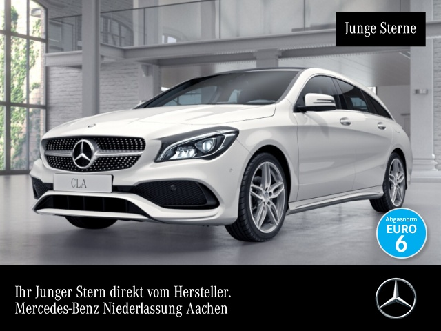 Mercedes-Benz CLA 180 SB AMG Pano LED Navi Laderaump Easy-Pack, Jahr 2016, Benzin