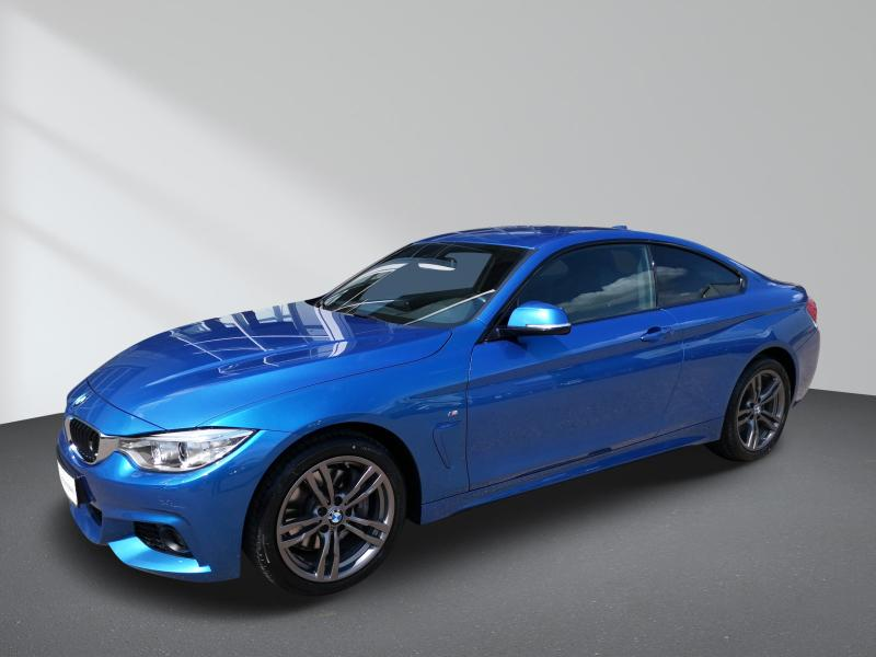 BMW 435i xDrive Coupe M Sportpaket Navi Prof. Aut., Jahr 2014, Benzin