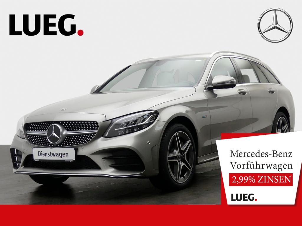 Mercedes-Benz C 300 e T AMG+AHK+LED+NAVI+PTS+KAM+SP-P+NP58T, Jahr 2020, Hybrid