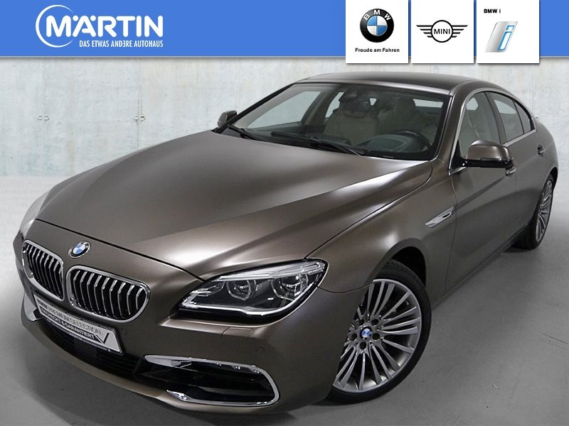 BMW 640i Gran Coupé *Head-Up*HiFi*LED*WLAN*GSD*RFK*, Jahr 2017, Benzin