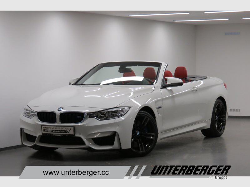 BMW M4 Cabrio Head-Up HiFi LED RFK Navi Prof. USB, Jahr 2015, petrol