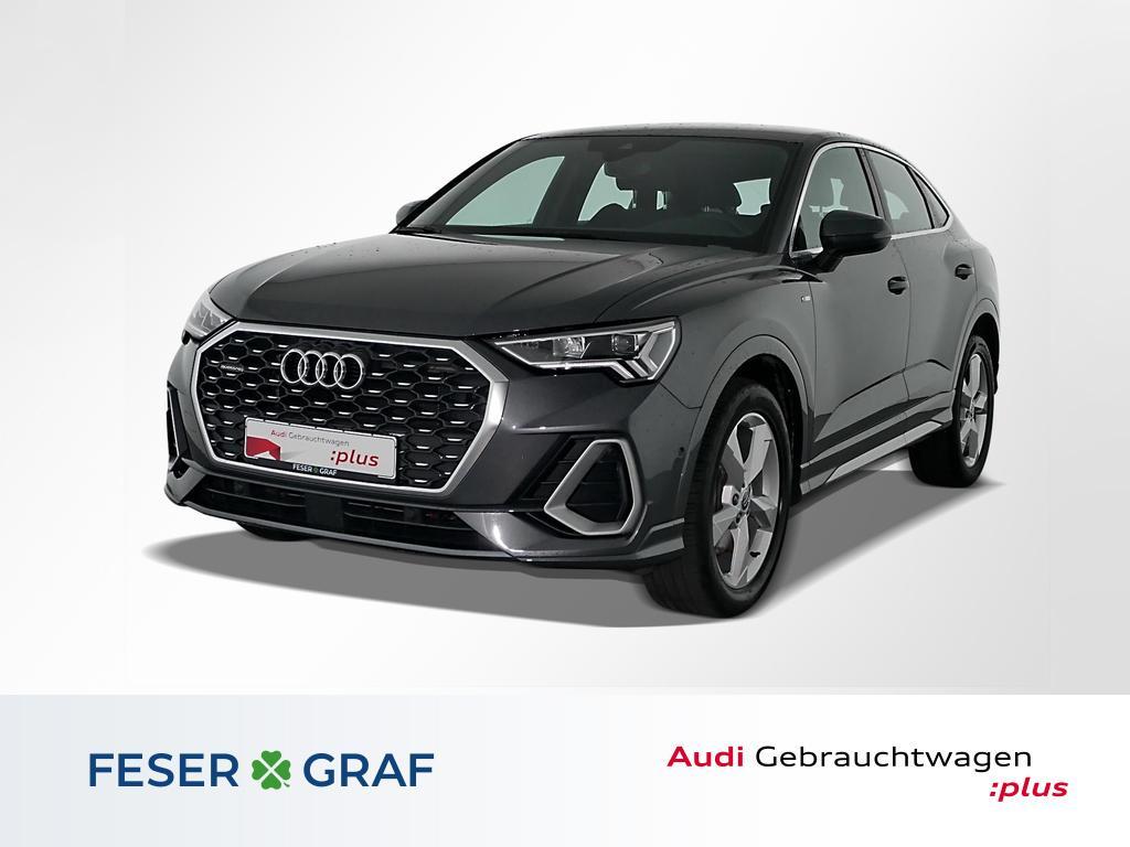Audi Q3 Sportback 40TDI q. S line/LED/ACC/AHK/Standh, Jahr 2020, Diesel