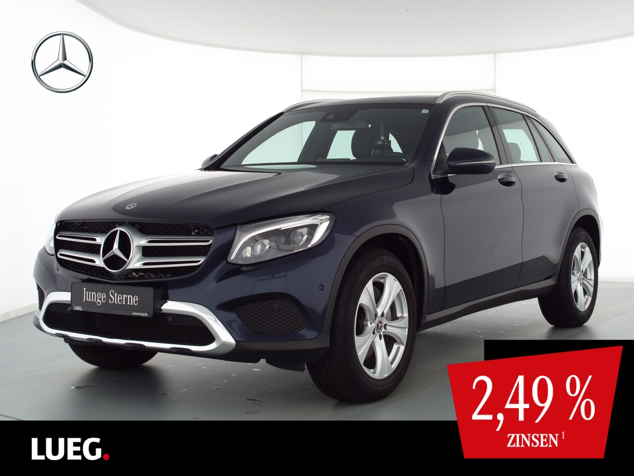 Mercedes-Benz GLC 250 4M COM+Pano+Burm+LED-ILS+Sthzg+SpurP+RFK, Jahr 2019, Benzin