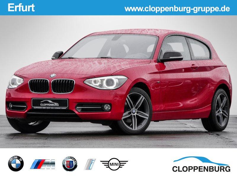 BMW 118d Sport XENON TEMPOMAT HIFI KLIMA DAB PDC -, Jahr 2014, Diesel