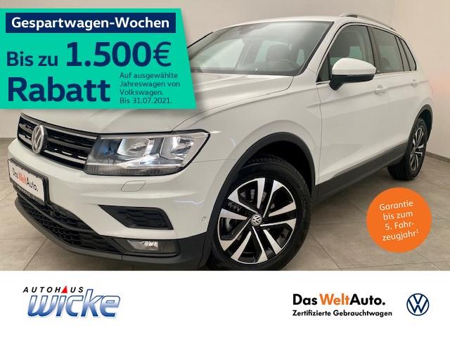 Volkswagen Tiguan 1.5 TSI Comfortline Navi Klima ACC AHK, Jahr 2020, Benzin