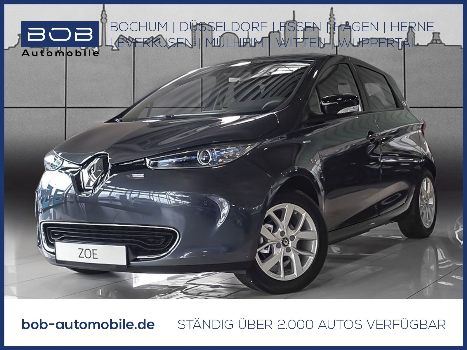 Renault ZOE LIFE LIMITED Batteriemiete NAVI SHZ, Jahr 2020, Elektro