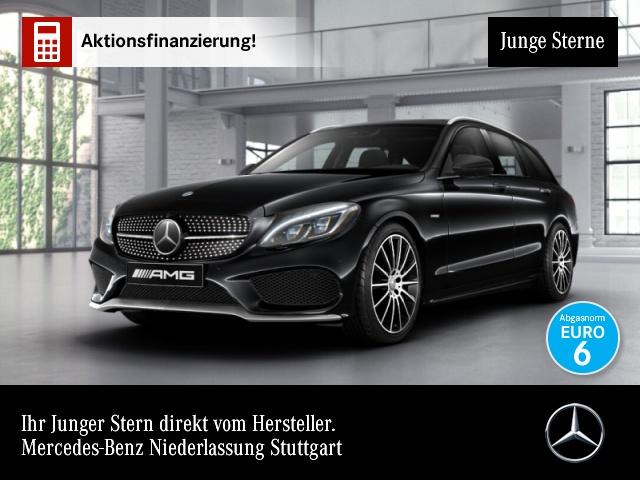 Mercedes-Benz C 450 AMG T 4M Pano ILS Distr. Burmester 360°PTS, Jahr 2016, Benzin