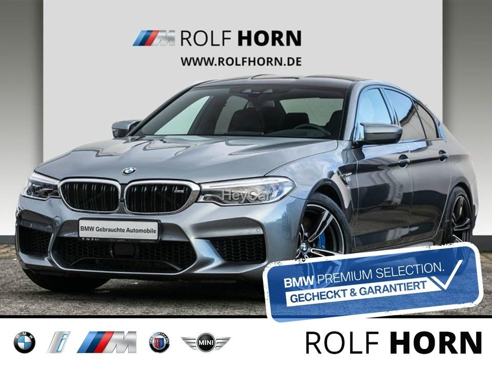 BMW M5 xDrive Navi LED DAB Lenkradhzg H&K Komfortzug, Jahr 2018, Benzin