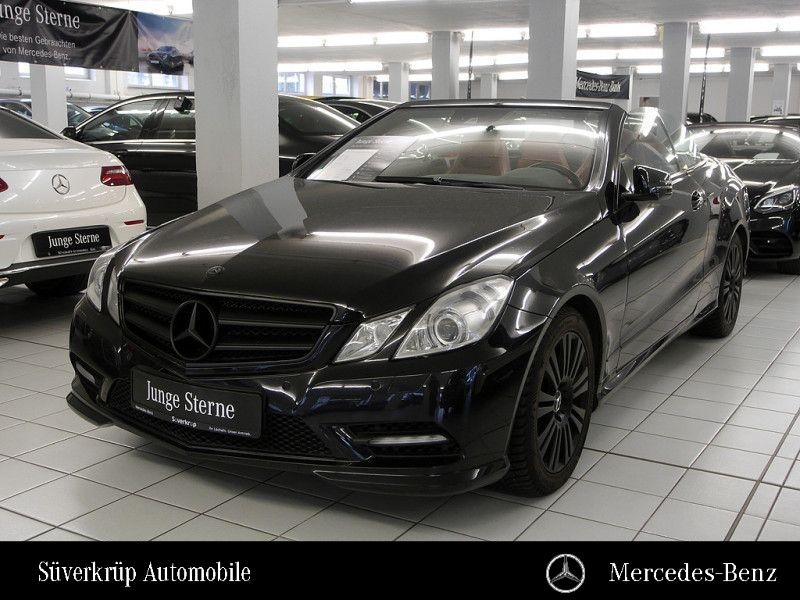 Mercedes-Benz E 250 CDI Cabrio AMG-SPORTPAKET+NAV+LED+SHZ+PDC, Jahr 2012, Diesel