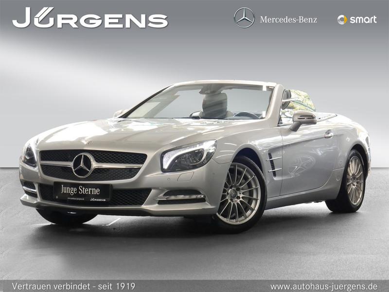 Mercedes-Benz SL 350 Comand/ILS/HK/Park-P/Sitzklima/Airscarf, Jahr 2012, petrol
