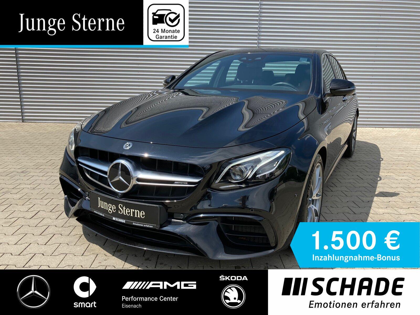 Mercedes-Benz E 63 AMG 4M+ Distronic*Multi.-Sitze*Stdhzg*Sound, Jahr 2019, Benzin