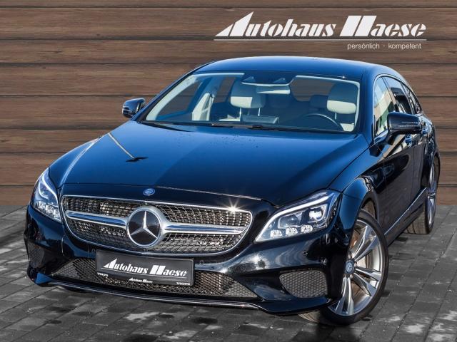 Mercedes-Benz CLS 400 Shooting Brake 4Matic Leder LED Navi StandHZG Keyless Dyn. Kurvenlicht, Jahr 2016, Benzin