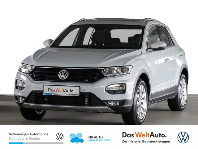 Volkswagen T-ROC 1.5 TSI DSG Sport Navi Pano Klima ACC Einparkhilfe, Jahr 2020, Benzin