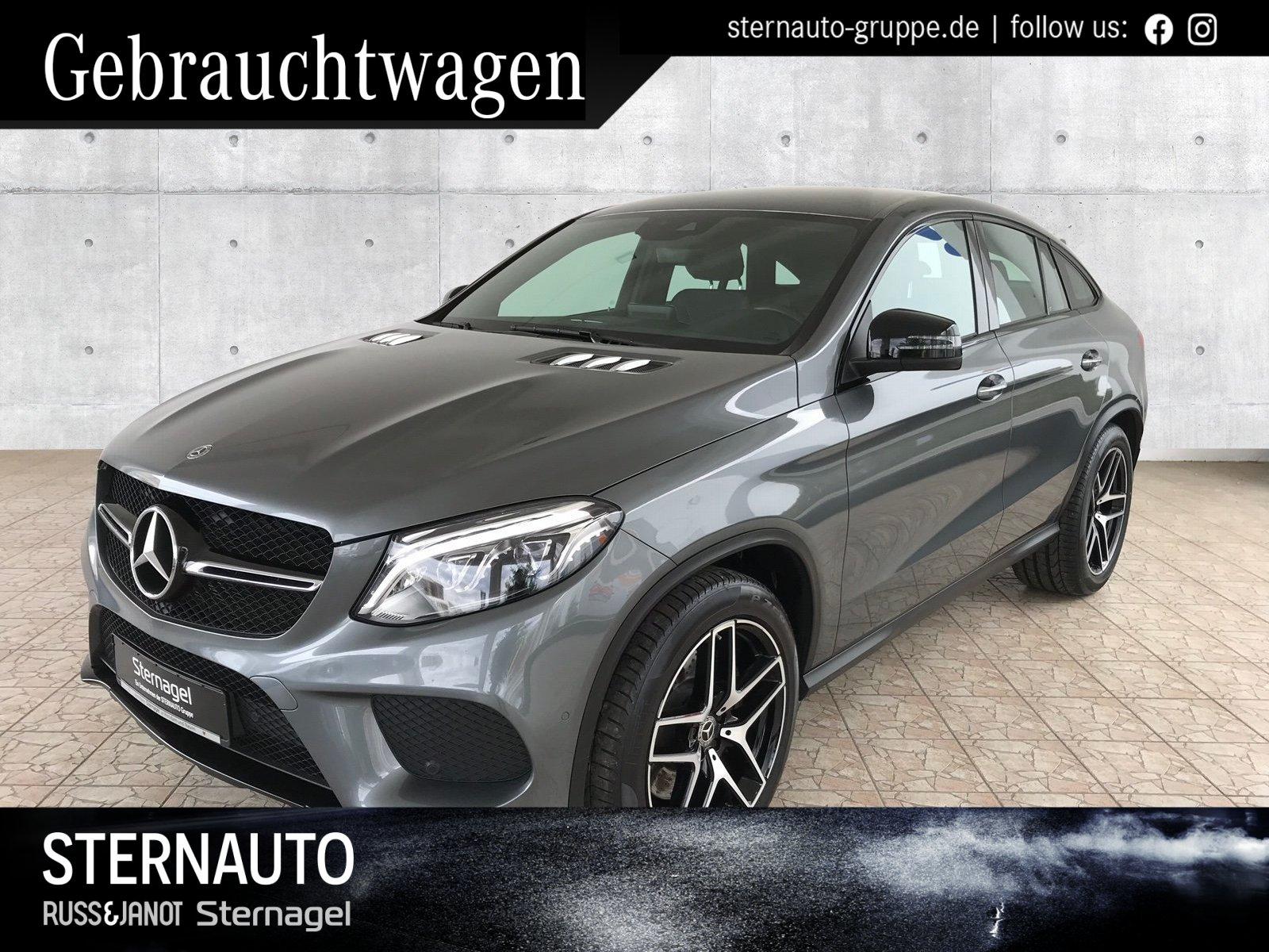 Mercedes-Benz GLE 500 4M AMG Line/Standhzg./COMAND/Kamera/ILS, Jahr 2017, Benzin