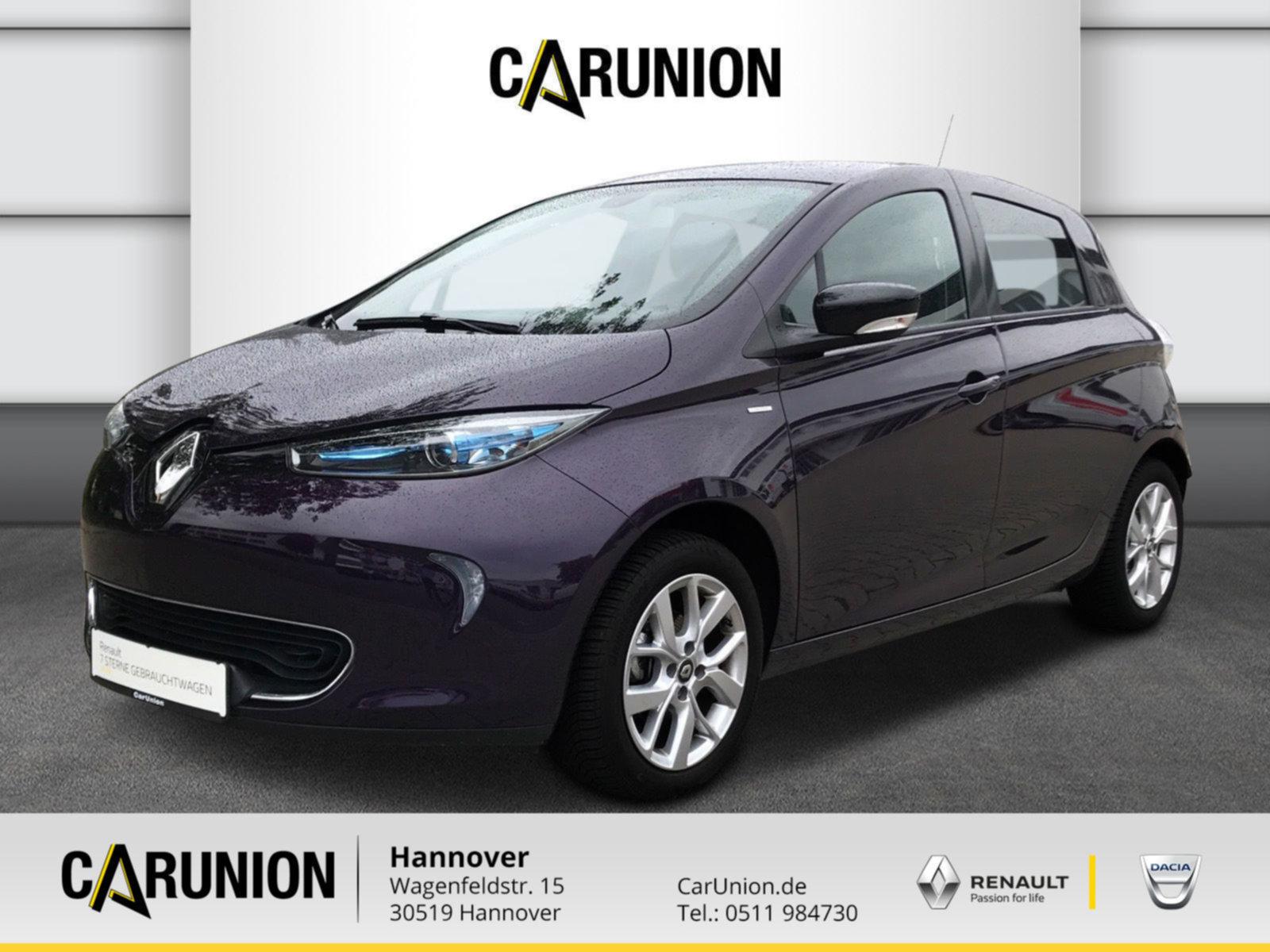 Renault ZOE LIFE 41 KWH Limited Batteriemiete, Jahr 2019, none