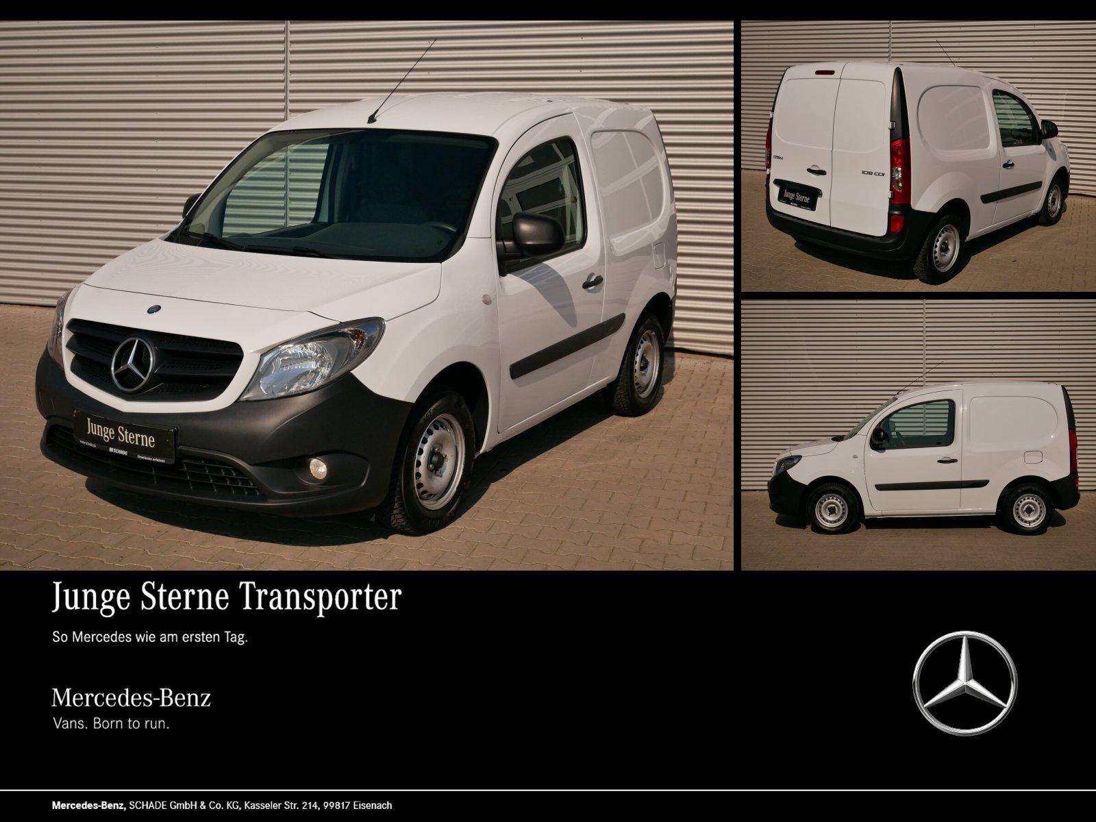 Mercedes-Benz CITAN 109 KASTEN KOMPAKT KLIMAANLAGE RADIO EURO6, Jahr 2017, Diesel
