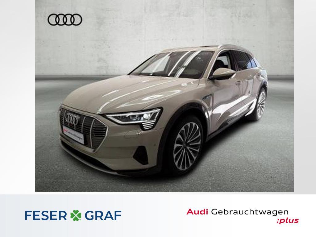 Audi e-tron 55 q. Matrix/Sitzbel+Mass/Pano/HuD/ACC/21, Jahr 2019, Elektro