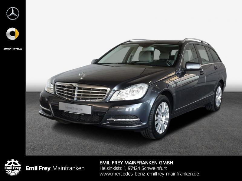 Mercedes-Benz C 180 T 7G Elegance+AHK+Pano+Navi+Sitzhzg+Parktronic, Jahr 2012, Benzin