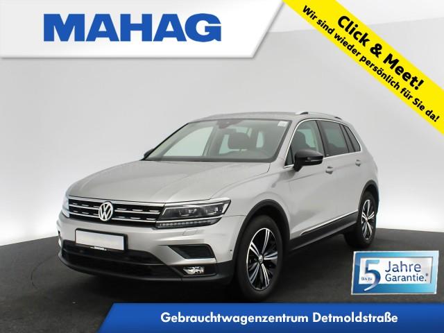 Volkswagen Tiguan IQ.DRIVE 2.0 TDI Navi LED AHK eKlappe ParkLenkAssist 18Zoll DSG, Jahr 2020, Diesel