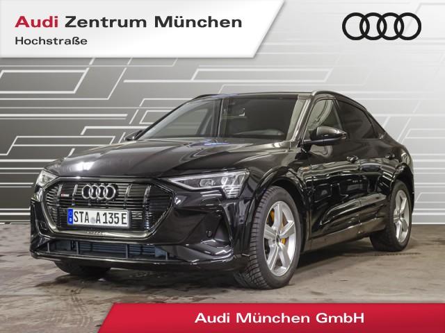 "Audi e-tron Sportback 55 qu. S line B&O HUD Pano Luftfw. Virtual MatrixLED 21"" Assistenz, Jahr 2021, electric"