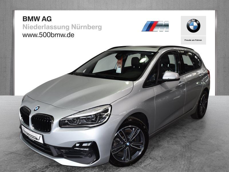 BMW 220d Active Tourer EURO6 Sport Line LED Pano.Dach Navi RTTI, Jahr 2019, Diesel