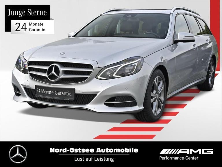 Mercedes-Benz E 200 T BT Navi AHK LED Sitzh. SHD Parktronic, Jahr 2014, Diesel