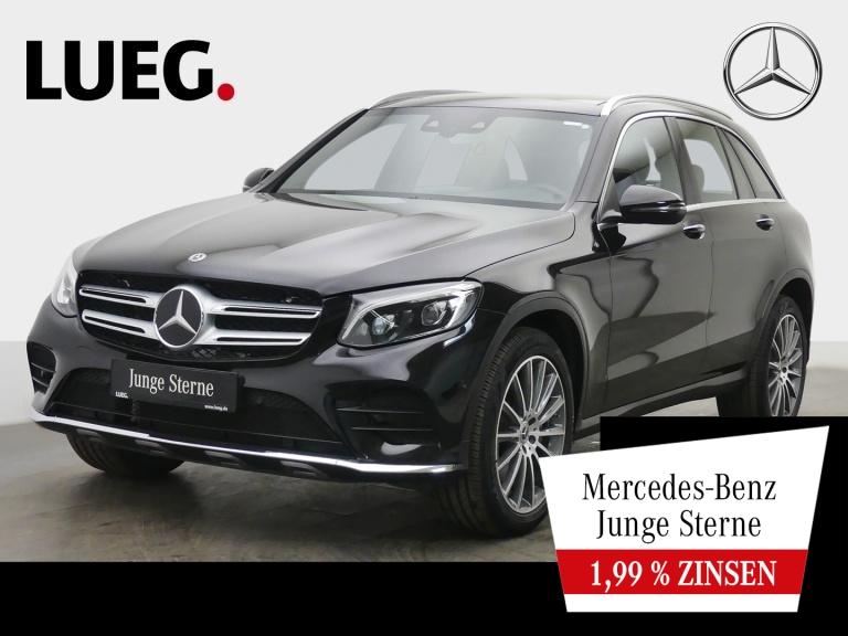 Mercedes-Benz GLC 250 4M AMG+COM+Pano+LED+20''+DistrP+KeyGo+RF, Jahr 2018, Benzin