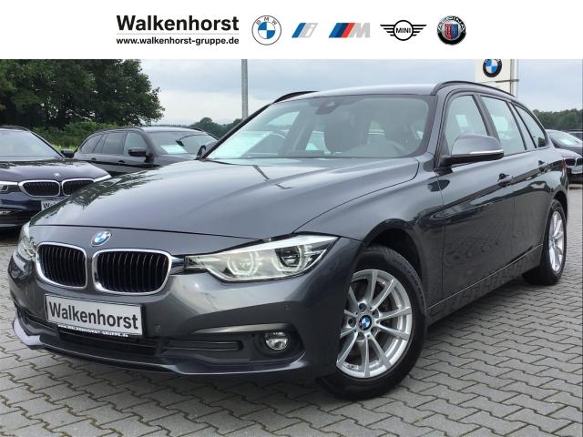 BMW 320 d Touring Advantage Navi LED AHK Sitzheizung, Jahr 2017, Diesel