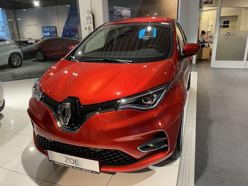 Renault ZOE (ohne Batterie) Z.E. 50 INTENS, Jahr 2020, Elektro