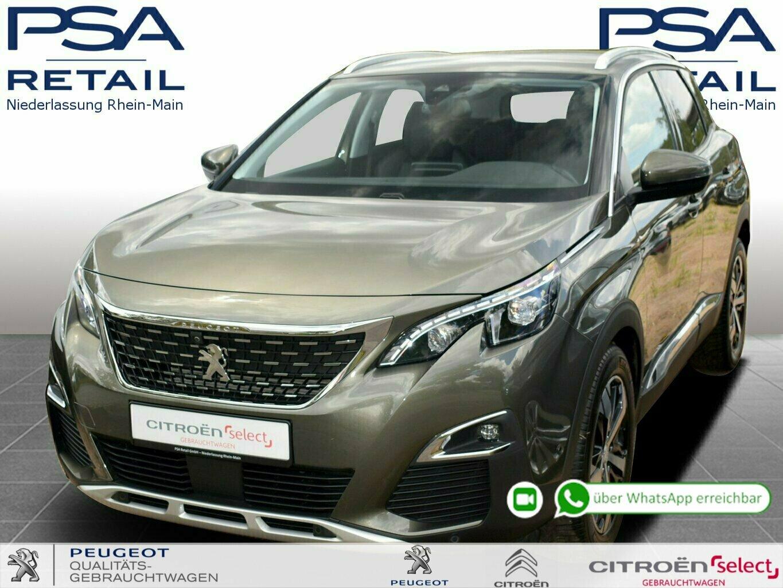 Peugeot 3008 BlueHDi 180 S&S EAT8 Allure *3D-Navi*FullLED*GRIP*Easy*, Jahr 2019, Diesel