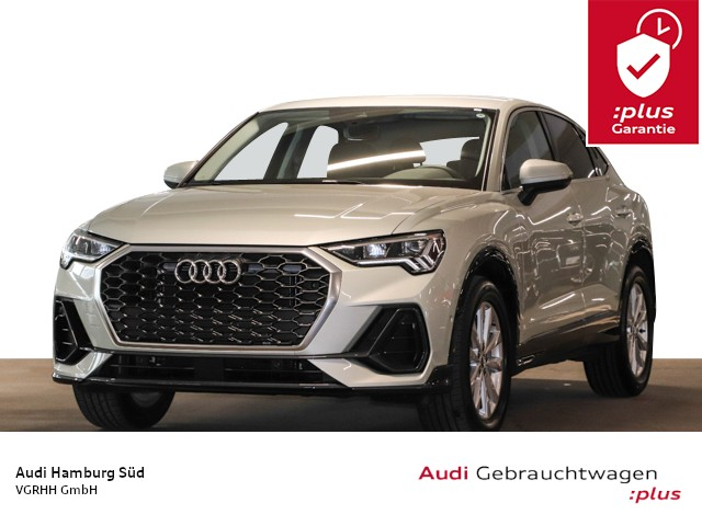 Audi Q3 Sportback 35 TFSI S tronic NAVI/LED/AHK/STDHZG, Jahr 2020, Benzin