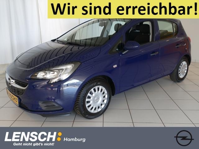 Opel Corsa E 1.2 5T Selection KLIMA+ISOFIX+ALLWETTER, Jahr 2017, Benzin
