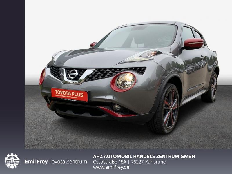 Nissan Juke 1.2 DIG-T N-Connecta, Jahr 2017, Benzin
