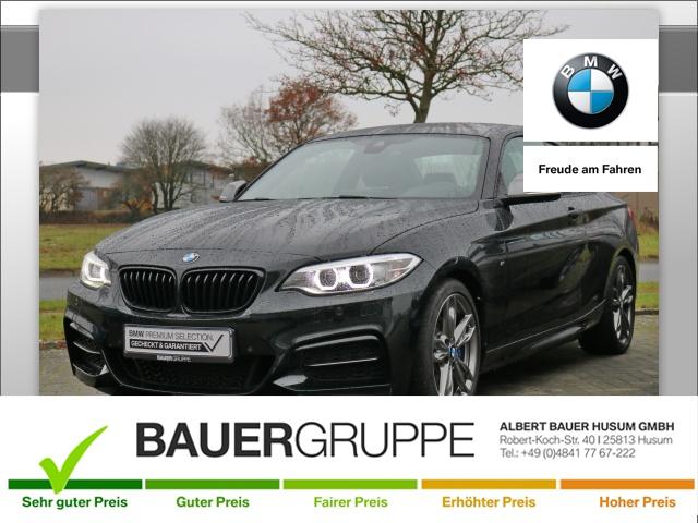 BMW M240 i xDrive Bluetooth Navi Vollleder Klima PDC, Jahr 2017, petrol