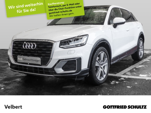 Audi Q2 1.4 TFSI COD NAVI LED GRA AHK PANO SHZ PDC, Jahr 2017, Benzin