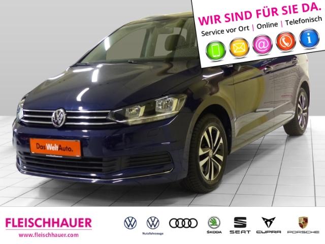 Volkswagen Touran IQ.DRIVE 1.5 TSI DSG+Navi+connect+7-Sitzer+ACC+PDC, Jahr 2019, Benzin