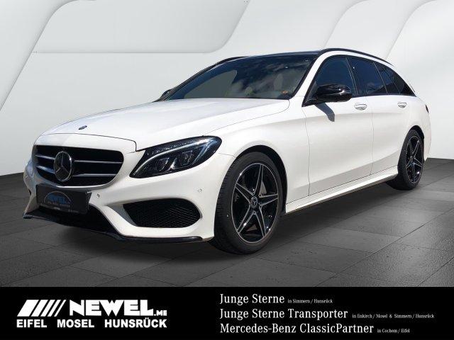 Mercedes-Benz C 400 4M T *AMG*COMAND*PANO*STHZ*HUD*AIR*MEMORY*, Jahr 2017, Benzin
