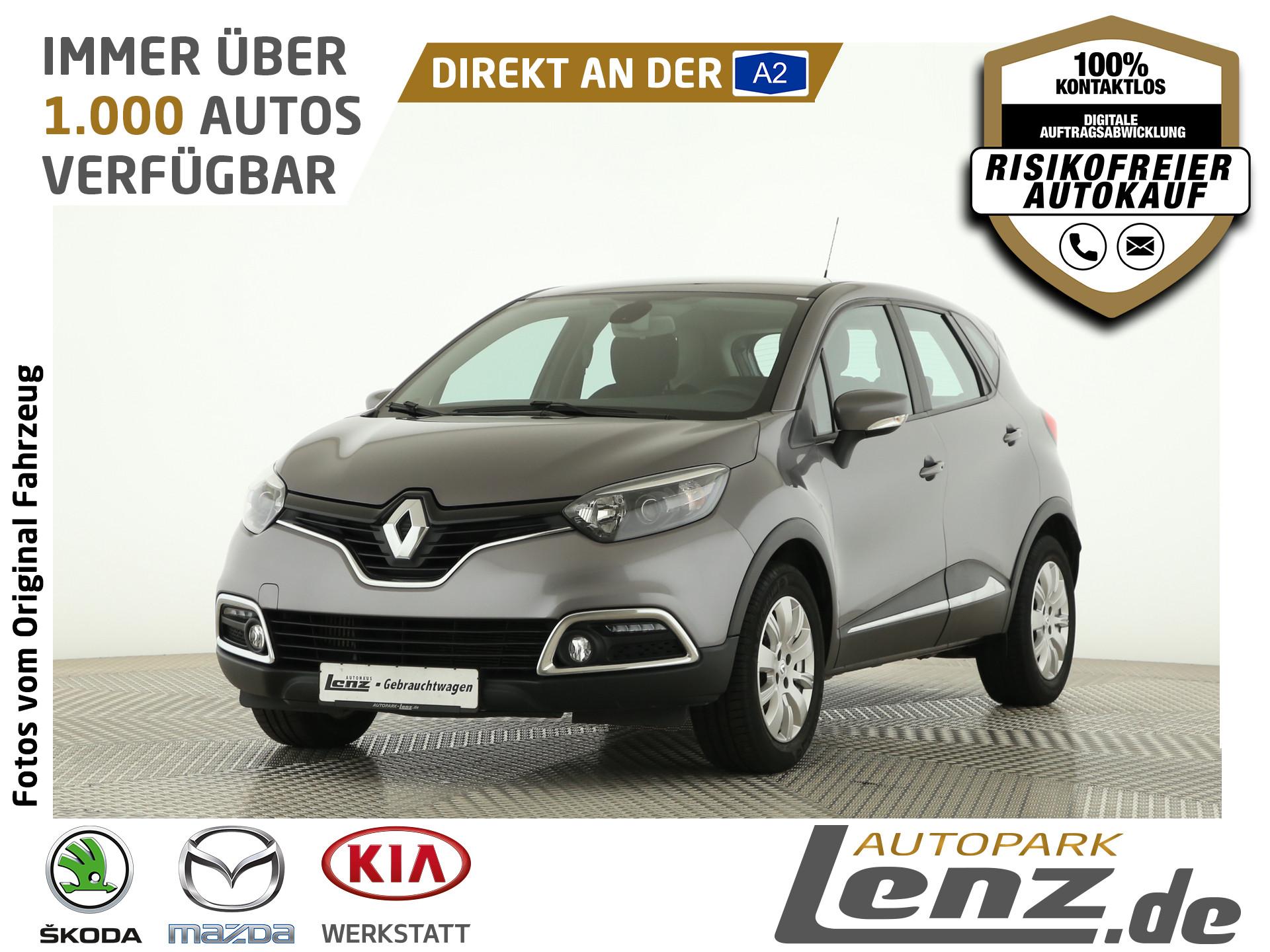 Renault Captur Dynamique AHK PDC Navi FSE Klimaautomatik, Jahr 2014, Benzin